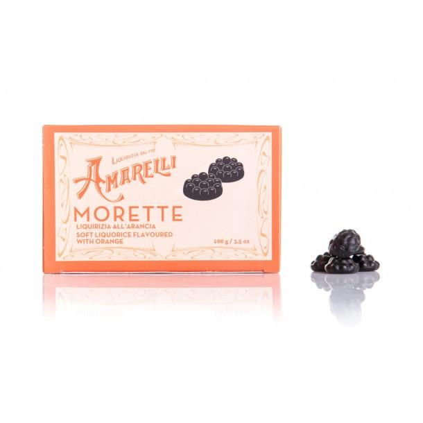 Morette all'arancia (100g) Scatolina, Arancione